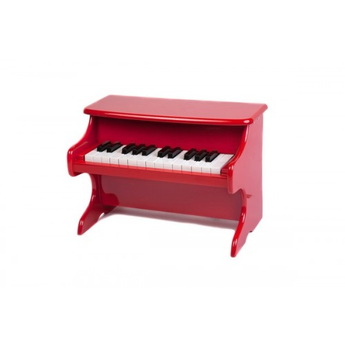 25 Key Upright Red Piano