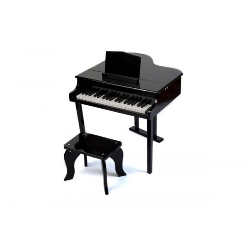 37 Key Luxury Junior Baby Grand Piano in Black