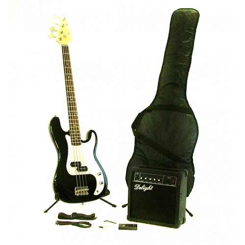 Black Bass Guitar Complete Fortissimo Starter Pack