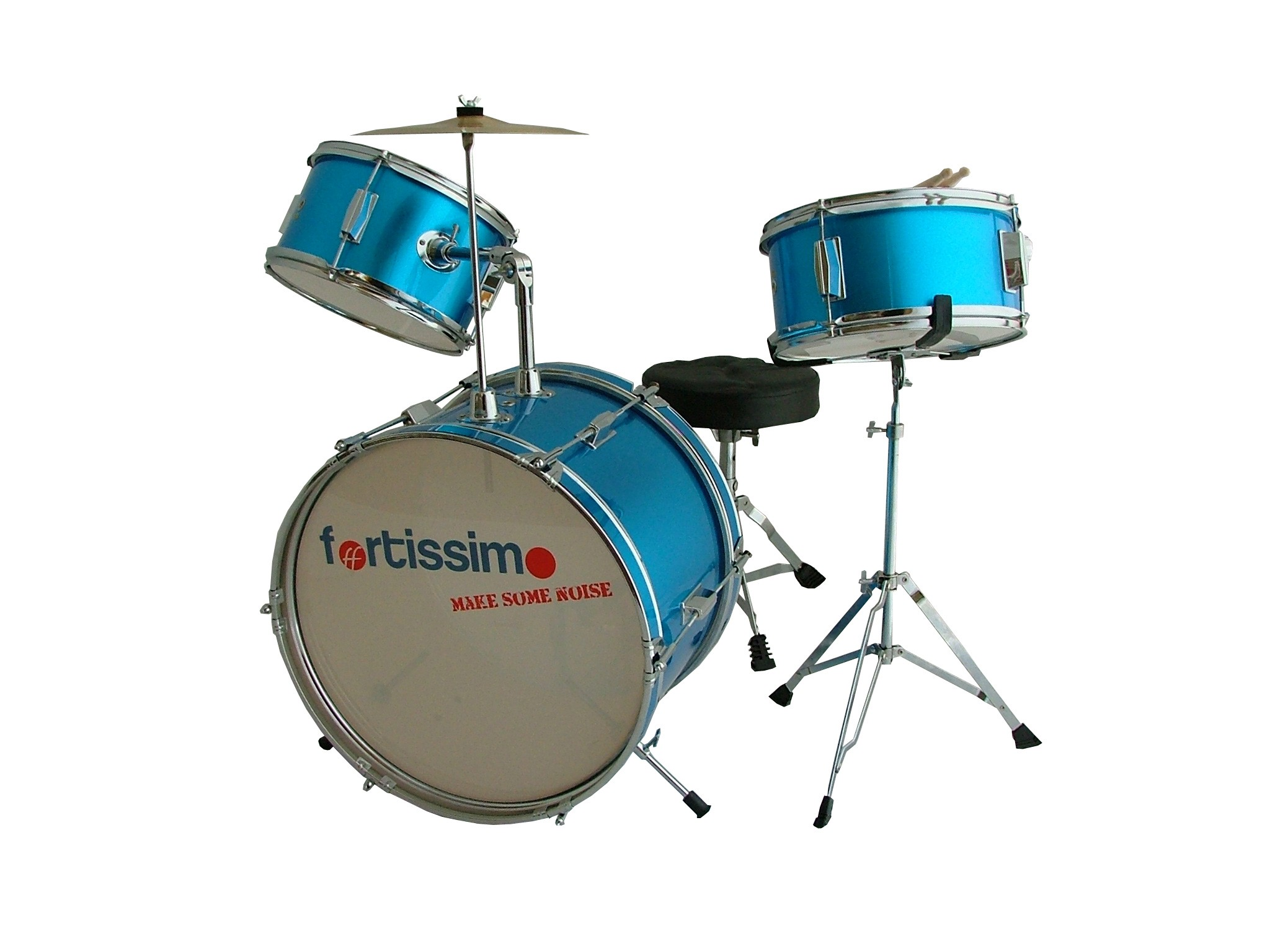 Blue Premium Junior Drum Kit