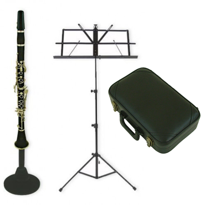 Silver Plated Bb Complete Clarinet Musician Starter Kit