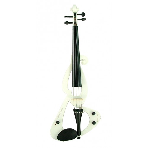 Classical White Fortissimo Electric Violin