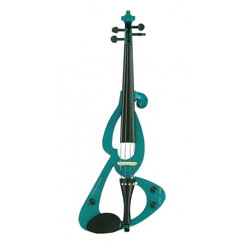 Cool Blue Fortissimo Electric Violin
