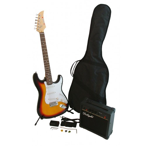 Iconic Sunburst Complete Electric Guitar Starters Pack