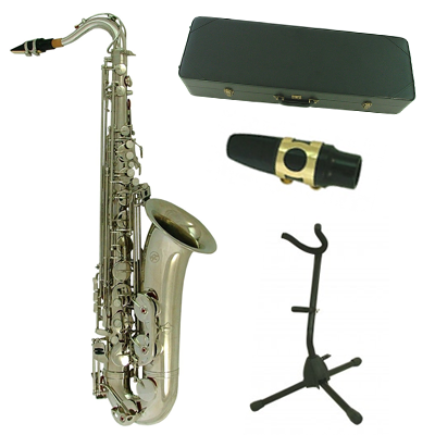 Nickel Torino Bb Ultimate Tenor Saxophone & Accessory Pack
