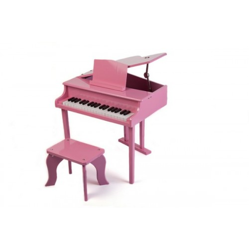 Pink 37 Key Premium Junior Baby Grand Piano