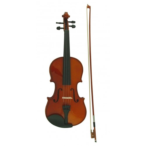 Premium Dolce 3/4 size Wooden Violin, Case & Travel Bag
