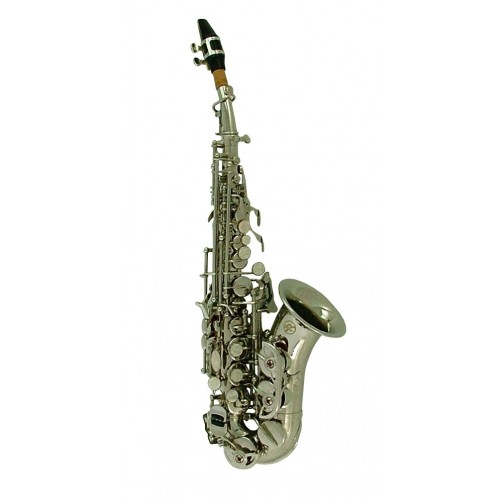 Quality Bb Nickel Soprano Saxophone & Sax Carry Case