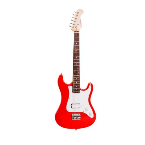 Sirocco 3/4 Size Junior Red Electric Guitar