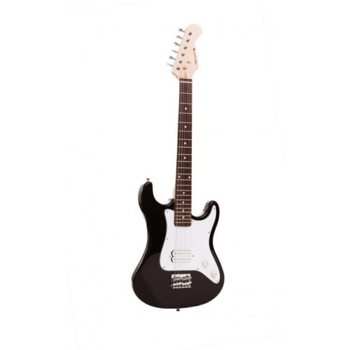 Sirocco Junior 3/4 Black Electric Guitar