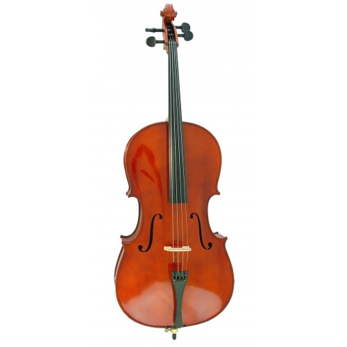 Sonore 1/4 Size Wooden Cello by Fortissimo Instrument Bag