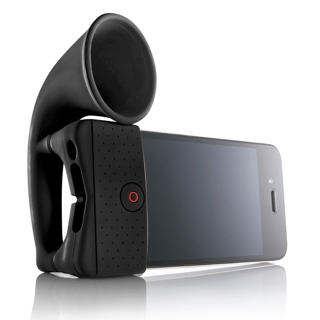iPhone 4 Amplifying Horn Stand