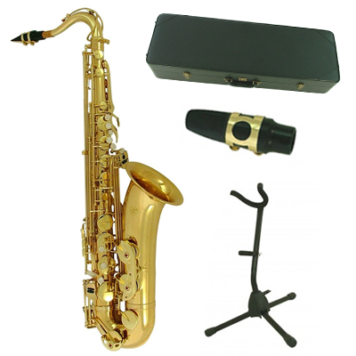 Torino Bb Ultimate Gold Tenor Sax & Accessory Pack